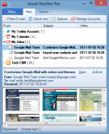 Gmail Notifier Pro screenshot
