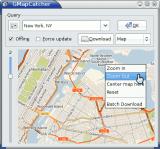 GMapCatcher screenshot
