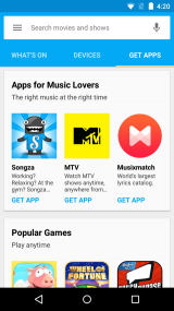 Google Cast for Android screenshot