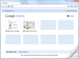 Google Chrome Portable screenshot