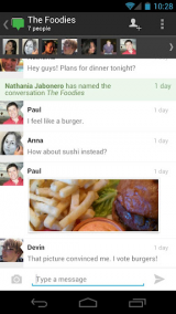 Google+ for Android screenshot
