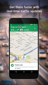 Google Maps for Android screenshot