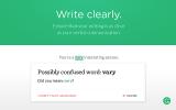 Grammarly for Chrome screenshot