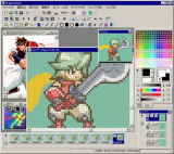 GraphicsGale Free Edition screenshot