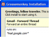 Greasemonkey for Firefox screenshot
