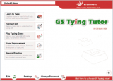 GS Typing Tutor screenshot
