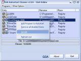 GSA Autostart Cleaner screenshot