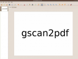 gscan2pdf screenshot