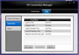 HP Connection Manager screenshot