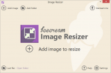 Icecream Image Resizer screenshot