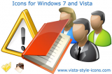 Icons for Windows 7 and Vista screenshot