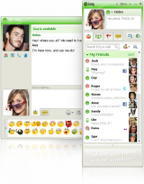 ICQ screenshot