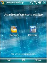 iMobileTool Contacts Backup screenshot