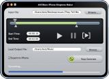 iPhone Ringtone Maker for Mac screenshot