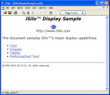 iSilo screenshot