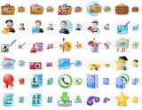 Large Portfolio Icons screenshot