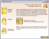 LastBit Yahoo Messenger Password Recovery screenshot