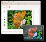 LCD Image Converter screenshot