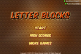 Letter Blocks screenshot