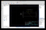 LibreCAD screenshot
