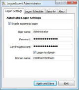 LogonExpert screenshot
