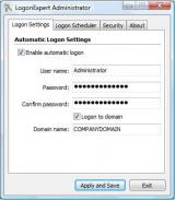 LogonExpert screenshot