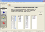 Lotto Pro 2009 Lottery Software screenshot