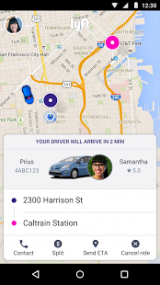 Lyft for Android screenshot
