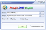 Magic DVD Copier screenshot