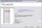 Mail Undelete Recovery Toolbox Free screenshot