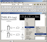 MathMagic Personal Edition screenshot