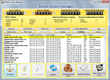 MAXA Cookie Manager Pro screenshot