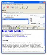 MaxBulk Mailer Pro screenshot