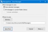MessageSave screenshot