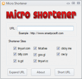 Micro Shortener screenshot
