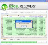 Microsoft Excel File Repair screenshot