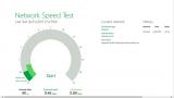Microsoft Network Speed Test screenshot
