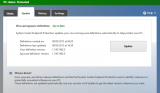 Microsoft Security Essentials Definition Updates screenshot