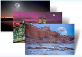 Microsoft Windows 7 Theme: Moonlight screenshot