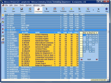 Mimosa Scheduling Software screenshot