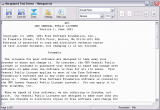 Miraplacid Text Driver screenshot