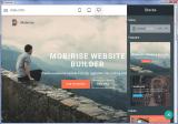 Mobirise screenshot