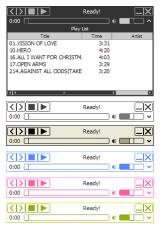 Moo0 AudioPlayer screenshot