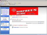 Morpheus Music screenshot