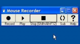 Mouse Recorder screenshot