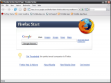 Mozilla Firefox Portable Edition screenshot