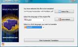Multilizer PDF Translator screenshot