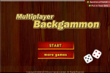 Multiplayer Backgammon screenshot