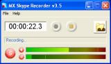 MX Skype Recorder screenshot