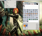 MyPaint screenshot